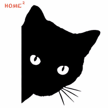 11*14CM Vinyl Car Styling Funny Cat Glue Stickers Auto Window Decal Decoration for Mitsubishi Ralliart ASX Outlander Lancer 10 цена