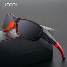 UCOOL Brand Unisex Polarized Lens Vintage Eyewear  Sun Glasses For Men/Women Square Frame Oculos Gafas UV400 SG008