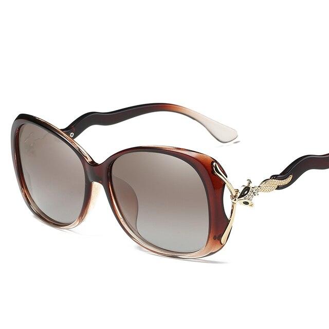 ac5caddb66 Fashion Fox sunglasses Big frame women Luxury designers Rhinestone Vintage  HD Glasses Polarized driving goggles Gafas De Sol