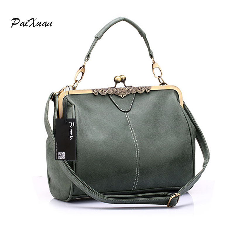 Hot Spanish vintage Style PU Leather Tote women bag new purse and Handbag Retro female Shoulder Bags clutch bolsa feminina Canta 2018 women messenger bags vintage cross body shoulder purse women bag bolsa feminina handbag bags custom picture bags purse tote