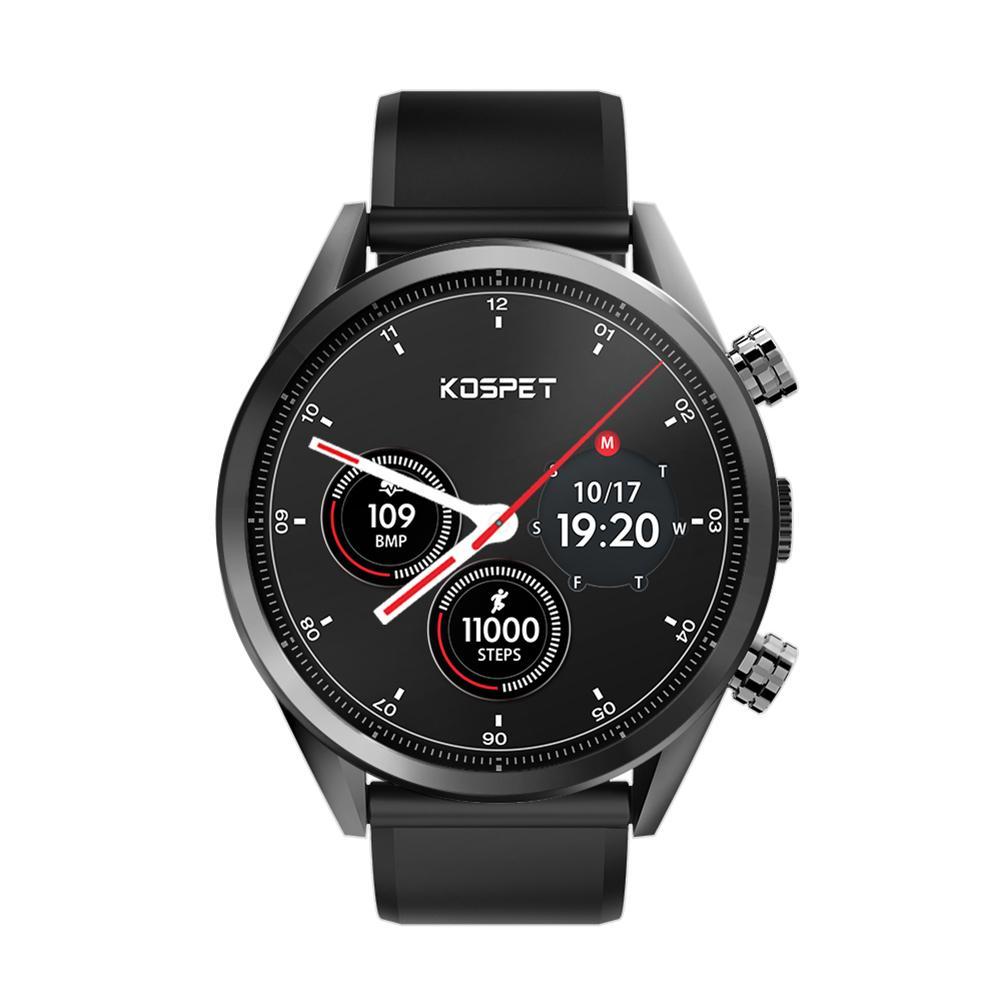 Kospet Hope Lite 1G + 16G 4G IP67 GPS 8.0MP caméra moniteur de fréquence cardiaque montre intelligente