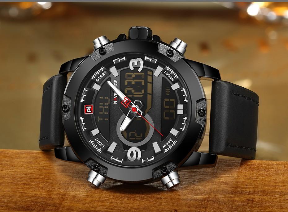 Top Luxury Brand NAVIFORCE Men Sport Watches Men's Quartz LED Analog Clock Man Military Waterproof Wrist Watch relogio masculino 11