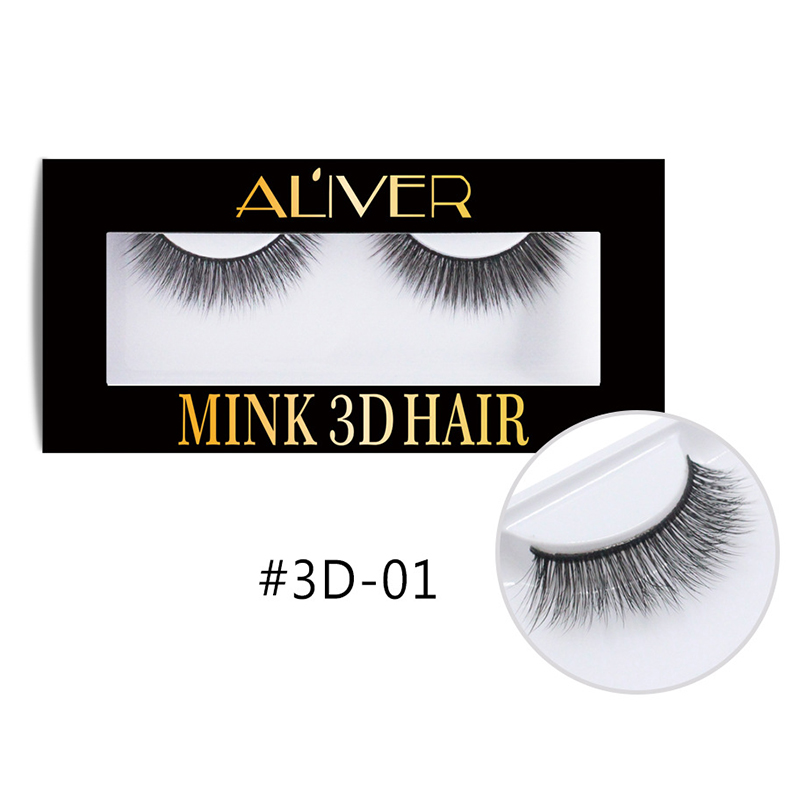 1pair Pure Handmade Natural <font><b>Mink</b></font> Hair Woven Fake Eyelashes Natural <font><b>Nude</b></font> Makeup Beauty Realistic False Eyelashes M05090