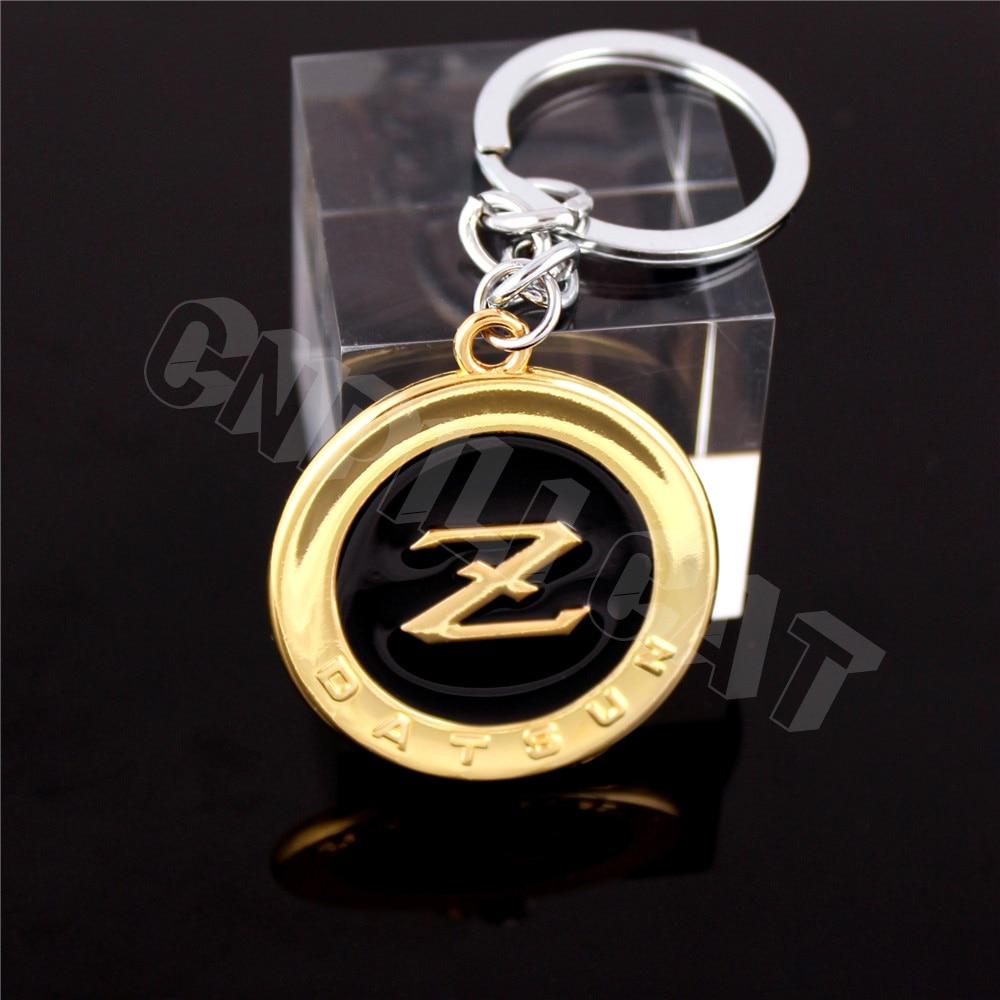 US $6 63 5% OFF|3D DATSUN Z Logo Car Key Chain Key Ring Keychains for  NISSAN 350Z 370Z Fairlady Z Z33 Z34 Etc -in Key Rings from Automobiles &