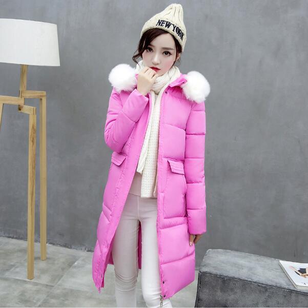 ФОТО TX1159 Cheap wholesale 2017 new Autumn Winter Hot selling women's fashion casual   warm jacket female bisic coats