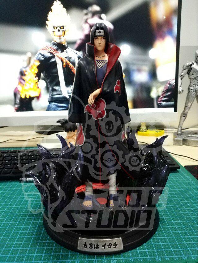 все цены на MODEL FANS presale 26cm NARUTO Akatsuki Uchiha Itachi GK resin made toy figure for Collection Handicrafts онлайн