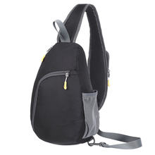 Chest Sling Bag Nylon Waterproof Backpack Outdoor Travel Cycling Crossbody  Bags for Men Women B2Cshop( 714c71f9ec8b