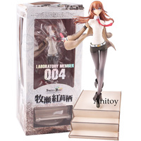 Steins Gate Makise Kurisu Laboratory Member 004 1/8 Scale Painted Figure Collectible Model Toy