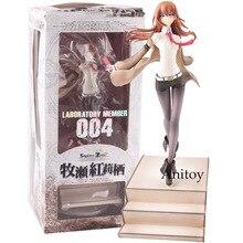 Steins porta Makise Kurisu di Laboratorio Membro 004 1/8 Bilancia Dipinto Figure Da Collezione Model Toy