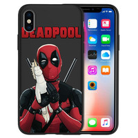 Deadpool Printed Phone Cases For Apple Iphone (6 Styles) 5