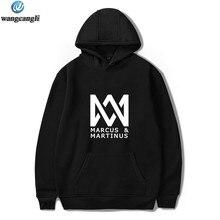 Pop Agir O Marcus E a Martinus hoodies das mulheres dos homens hip hop  moletom com 052ecf801e3