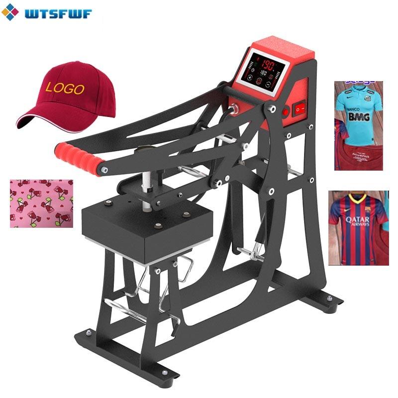 Wtsfwf Heat Press Machine 2D Heat Press Printer Machine For Caps Logos Cases
