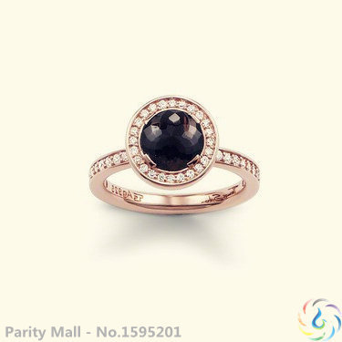Rose Gold Black Stone Ring Thomas Style Glam And Soul Good Jewerly For Men And Women 2015 Ts Gift In silver-plated