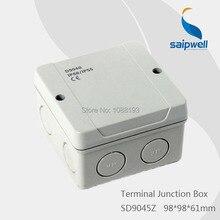 98*98*61 мм Водонепроницаемый распределительная коробка для электроники/ABS Пластик соединительной коробки(SD9045Z