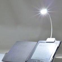Mini lampe de lecture Portable Flexible 0.5W à Clip, lampe de lecture pour Amazon Kindle/lecteurs de livres électroniques/pda, nouveauté