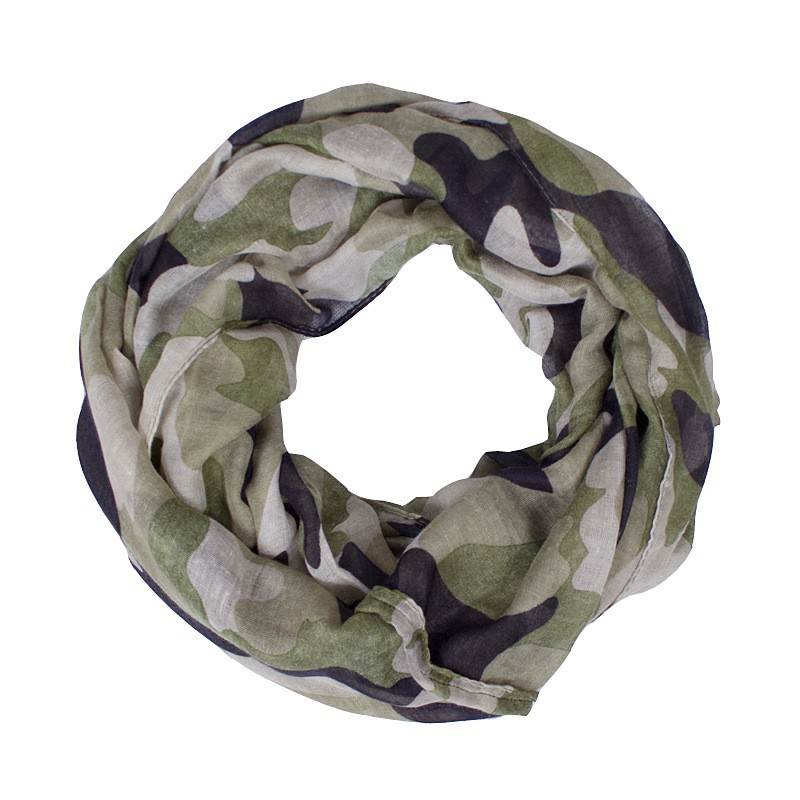 Military Colors Loop Scarf | Infinity Scarves | Up to 60% Off Now