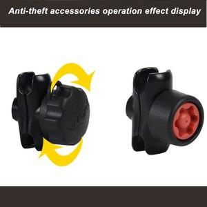Image 5 - JINSERTA Gemischt Kombination Anti Theft Pin Lock Sicherheit Knob und Schlüssel Knopf für ram mount 1 zoll Durchmesser B größe Arm Buchse