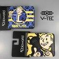 Hot Jogo Fallout Vault 4 Caráter Menino Curto Carteira Titular do Cartão para Homens e Mulheres Presente de Natal de Aniversário do Anime