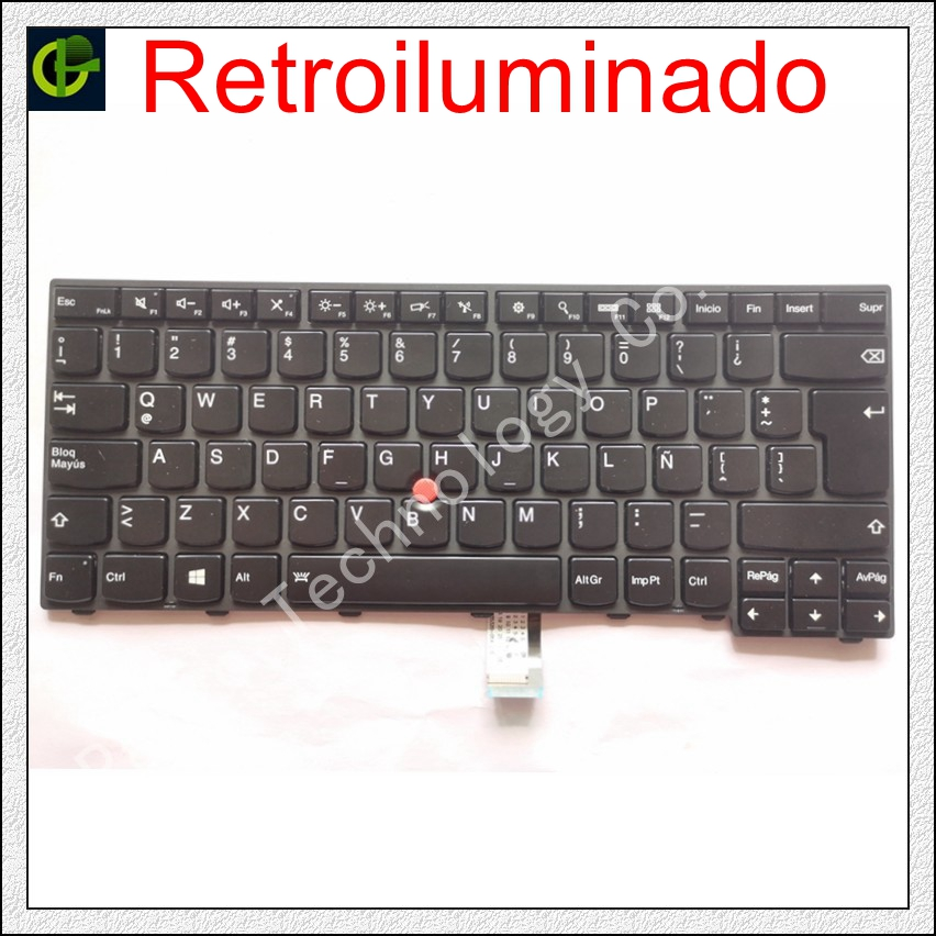 Spanish Backlit Keyboard for lenovo ThinkPad L440 L450 L460 L470 T431S T440  T440P T440S T450 T450S e440 e431S T460 SP Latin LA