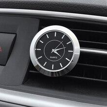 Украшение автомобиля электронный счетчик автомобиля часы Клип время Авто Интерьер Vent орнамент авто выход часы автомобиль-Стайлинг отделка аксессуар