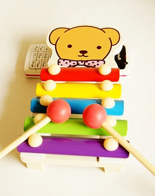 Freeshipping Wholesale new arrival iron craft toys musical instrument colorful Knock on Piano, very cute&nice