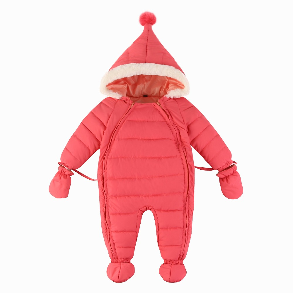 baby winter clothes 216 winter thicken warm solid baby boys girls rompers double oblique zipper baby snowsuit infant jumpsuit winter baby snowsuit baby boys girls rompers infant jumpsuit toddler hooded clothes thicken down coat outwear coverall snow wear