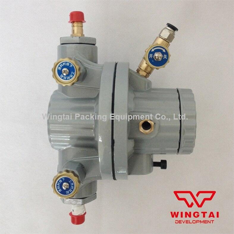 Single way Aluminum Alloy Pneumatic Diaphragm Pump 10L/Min Flux for Printing Ink ,Oil,Chemical Liquid BML-5 bml 15c spraying suit two way pneumatic diaphragm ptfe pump