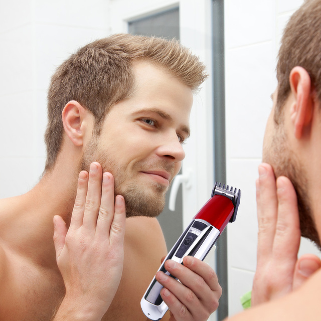 Men's Rechargeable Grooming Machine Hair Clippers Hair Trimmers Electric Shavers