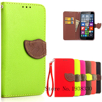Luxury Wallet PU Leather Flip Case for Microsoft Lumia 640xl with Card Holder Phone Bag Flip Cover for nokia lumia 640 xl coque