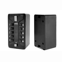 OSPON Wall Mount Key Storage Box Security Lock Zinc Alloy Safe Organizer Box With 10 digit Combination Password Fixing Screw