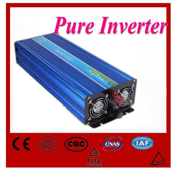 Digital display <font><b>INVERTER</b></font> Reine Sinus Welle Konverter DC 24 v zu AC 220 v 60 hz 2000 <font><b>watt</b></font>/<font><b>4000</b></font> <font><b>watt</b></font> Peak image