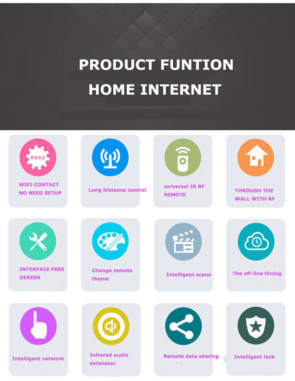 10-Geeklink 3S+Extension Smart Home Automation Universal Remote Control Wireless Remote Controller,WIFI+IR+RF Switch,by AndroidIOS-8