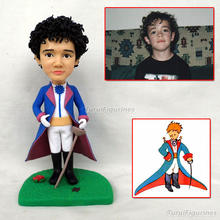 217 Personalized Custom kids cartoon Polymer Clay Doll From face photo Christmas Gift Pre-sale Birthday Cake Topper wedding Toys