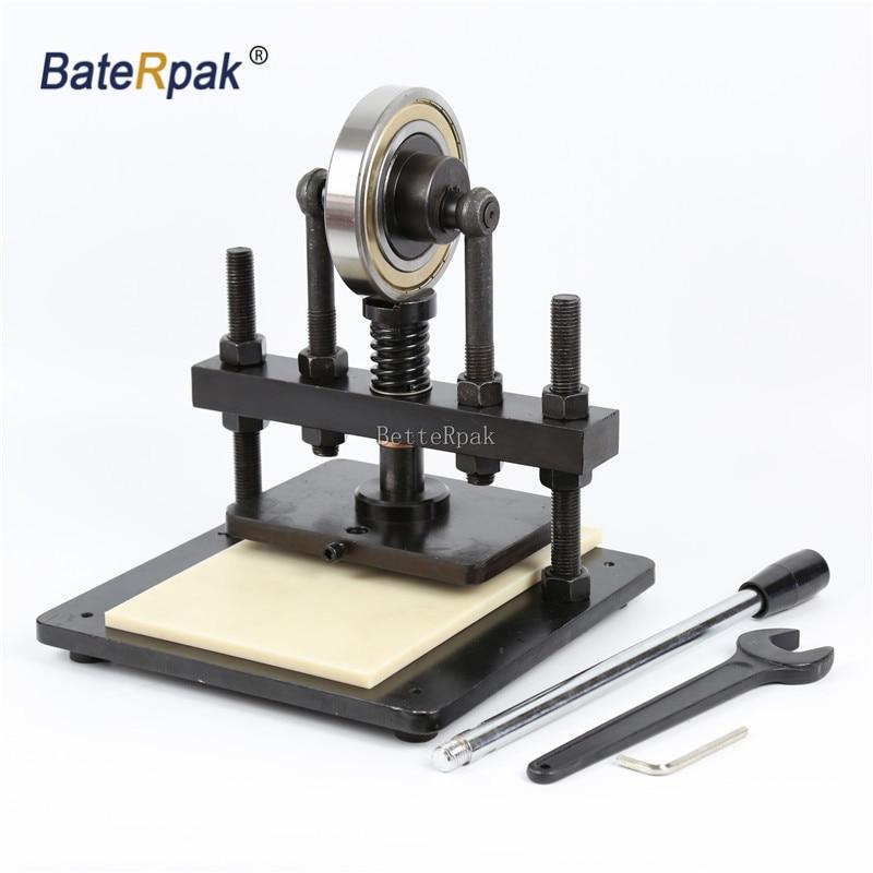 20x14cm BateRpak Hand pressure sampling machine photo paper PVC EVA sheet mold cutter manual leather mold