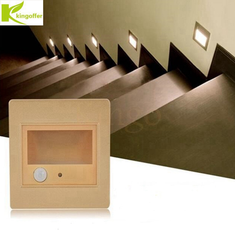 Lighting Basement Washroom Stairs: Indoor PIR Motion Sensor Led Stair Light Infrared Human