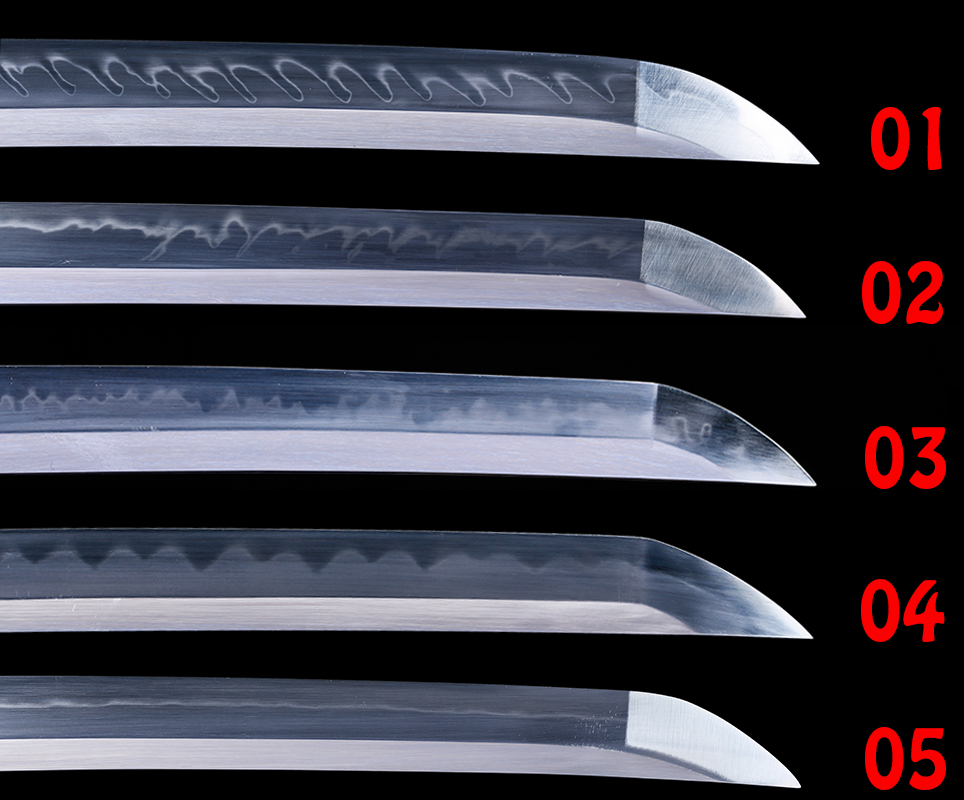 Real Steel Blade For Japanese Samurai Katana /Wakizashi/ Tanto Sword 1095/ T10 Steel Material With Clay Tempered Full Tang Sharp
