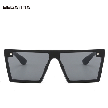 Megatina Vintage Large Frame Kids Sunglasses Brand Design Luxury Unisex Reflection Mirror for child Shades Goggles KS7322 reflection