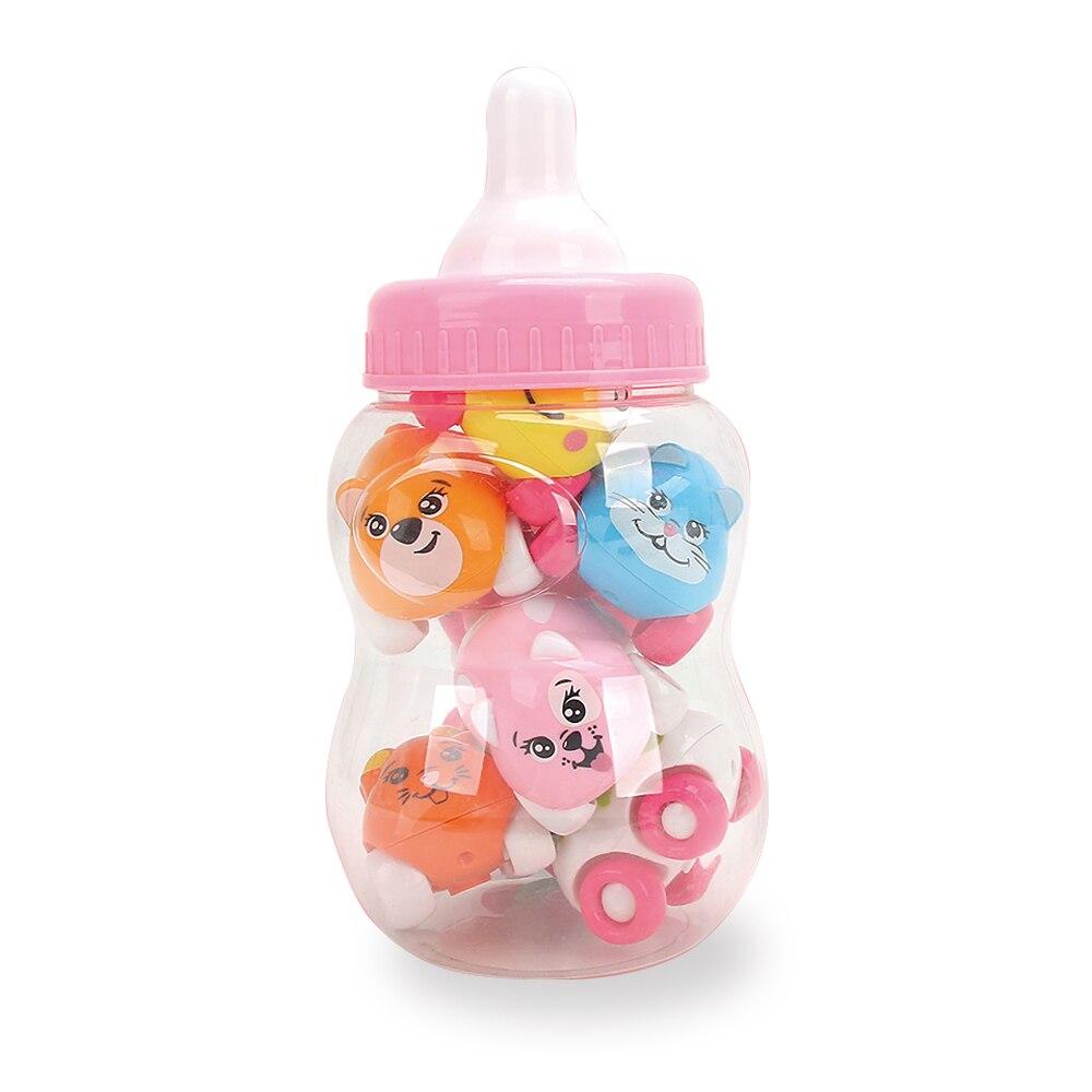 Baby Oyuncaqlar 8PCS Sürüşən Avtomobil Maqnit Oyuncaqlar Şirin - Oyuncaq nəqliyyat vasitələri - Fotoqrafiya 6