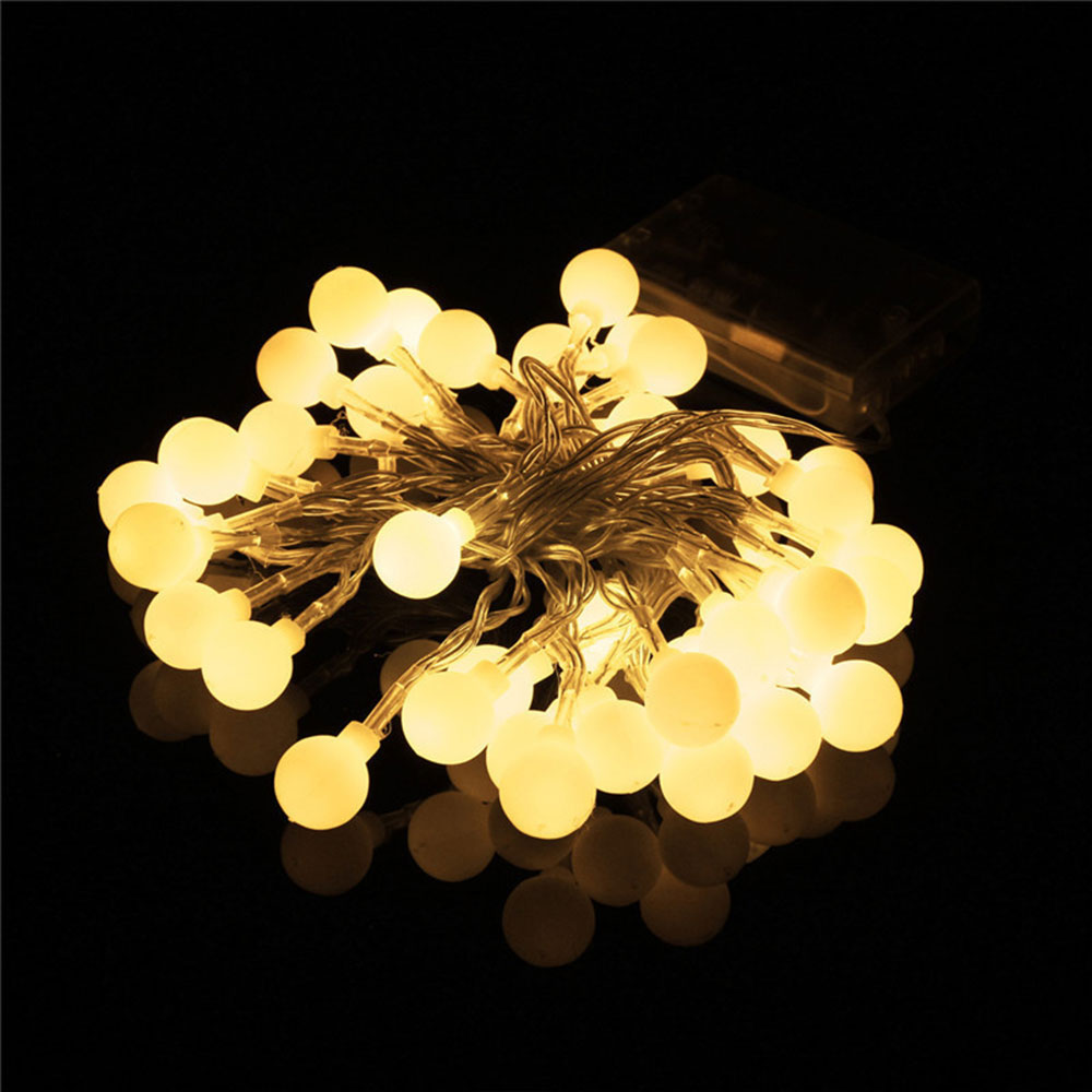 Aliexpress Com Buy 3 2m 30led Warm White Light String