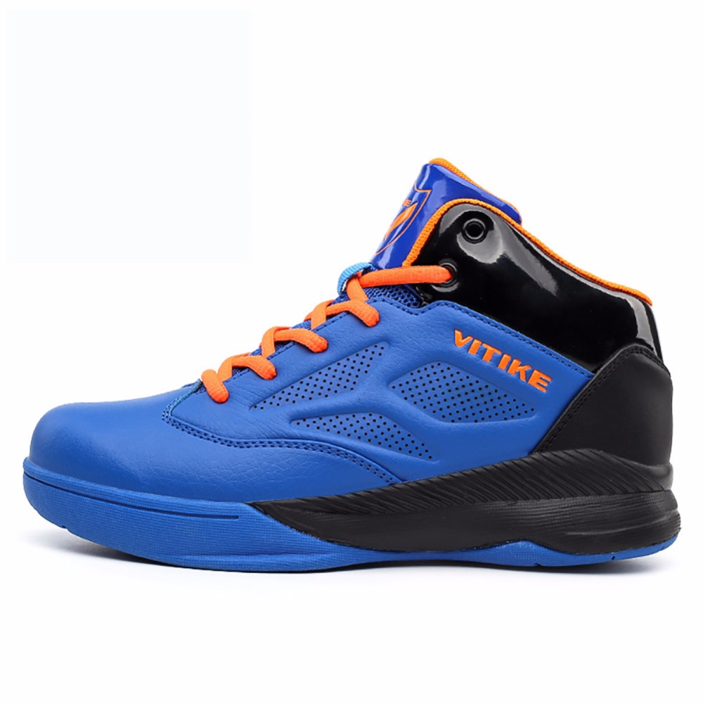 WETIKE 2017 Spring Summer Kids Basketball Shoes High Ankle Outdoor Sports Shoes Basketball Boots Sneakers For