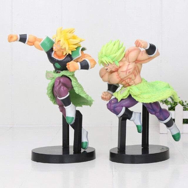 20cm Dragon Ball Super Saiyan Broly Z Broli Schlacht Abbildung Super Saiyan Goku Gogeta Schlacht PVC Action-figuren spielzeug