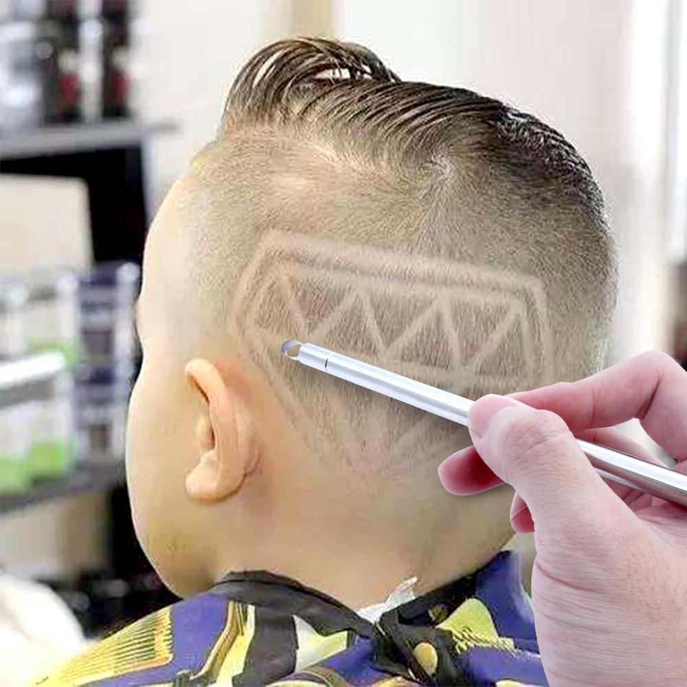 50sets Professional Barber Hair Eyebrow Razor Pen For Men