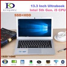"13.3"" Core i5-5200U laptop notebook, 8GB RAM+256GB SSD+500 HDD, Metal Case,1920*1080,WIFI, Bluetooth 2.2GHz  Win10 F200"