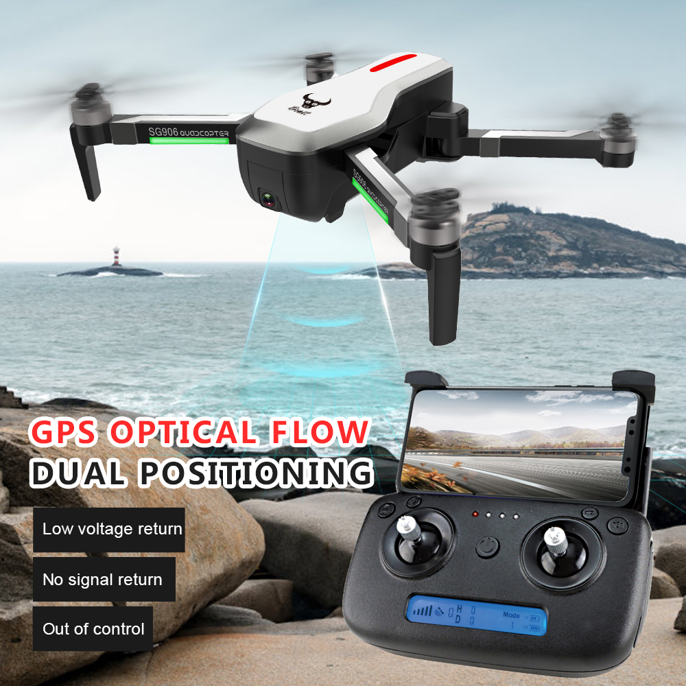 Mini drone SG906 GPS Brushless 4K Drone with Camera 5G Wifi FPV remote toys Foldable RC