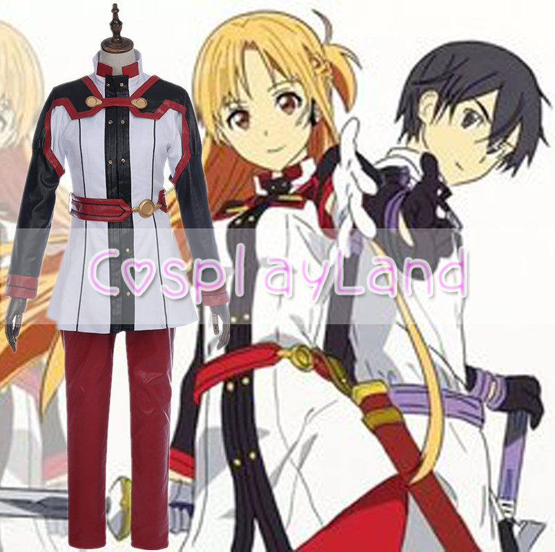 Movie Sword Art Online Ordinal Scale Yuuki Asuna Cosplay Costume Carnival Halloween Costume Cosplay Yuki Custom Made Suit