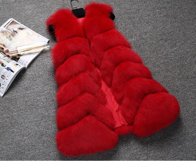 New collections Milan Catwalk Ladies natural fox fur vests , womens Winter real fox fur gilet wholesale