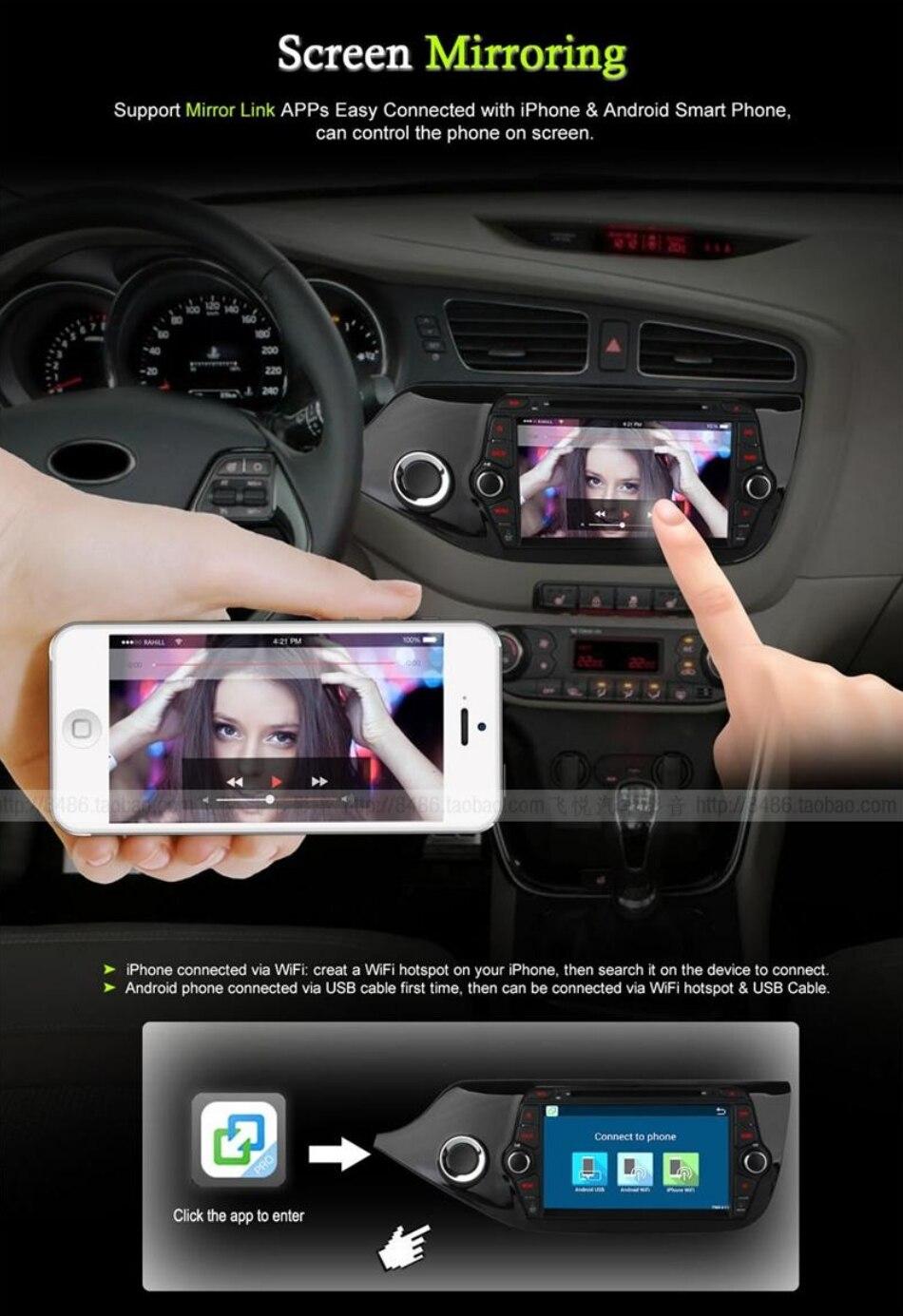 For KIA Ceed Cee\'d JD 2012~2017 Car Multimedia TV DVD GPS Radio Carplay Original Style Navigation Liislee Advanced Navi 3