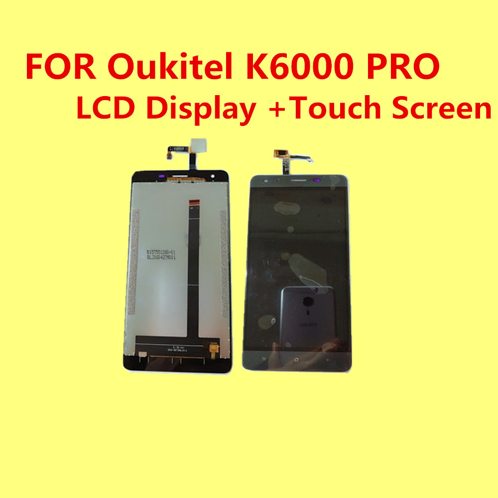 FOR Oukitel K6000 PRO LCD Display Touch Screen Tools 100 Original 5 5 inch Digitizer Assembly