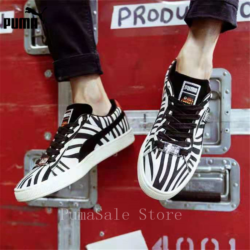 4501bbe90c2 Detail Feedback Questions about PUMA Suede Classic X Paul Stanley Women  Sneakers 36628801 Low Top Badminton Shoes Women 50th Anniversary Sports  Shoes Size ...