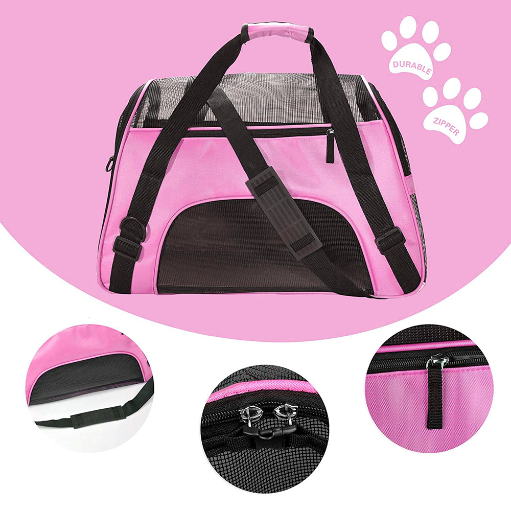 Travel Small Dog Backpack Carrier Handbag 3
